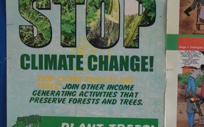 Træplantning i Uganda betalt af medlemskaber og donationer