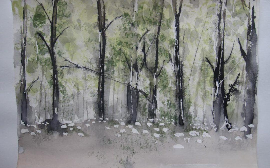 Rita Gram giver kunstværk til GROW|FOR|IT